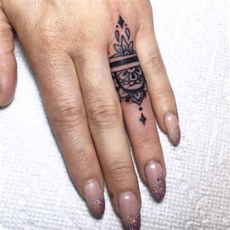 flower tattoo ring 13 tattoos prettier than your flashy rings ring tattoos