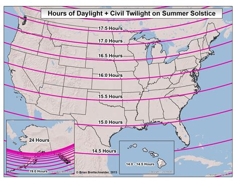 s day length brian b s climate daylight twilight astronomical maps
