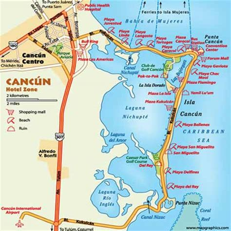 map cancun mexico cancun travel guide maps isla punta ciudad isla