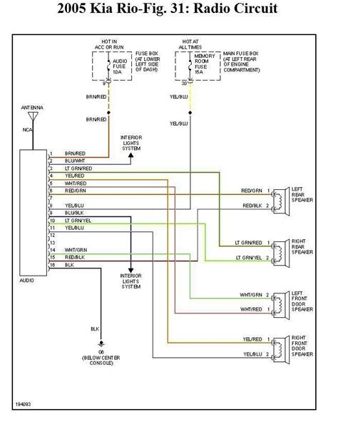 kia spectra wiring diagram 26 wiring diagram images