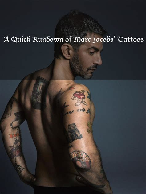 marc jacobs tattoos origins of the duck