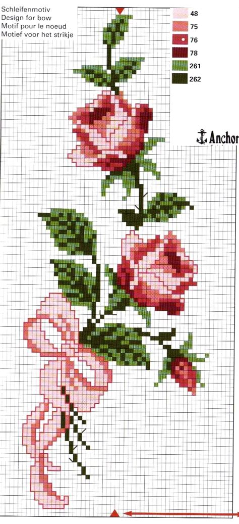 schemi ricamo fiori ricami e schemi a punto croce gratuiti fiori fiori da