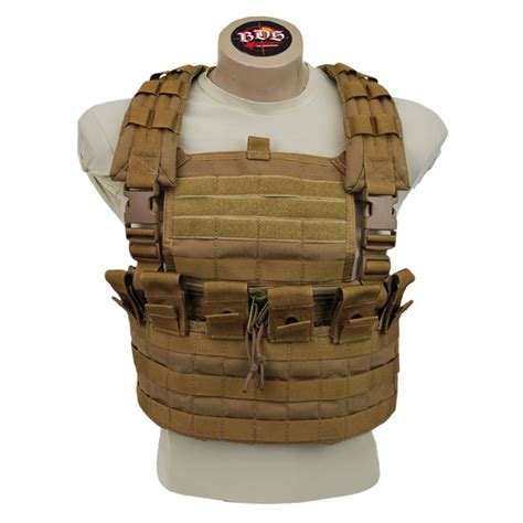 chest rug bds tactical simple stacker chest rig
