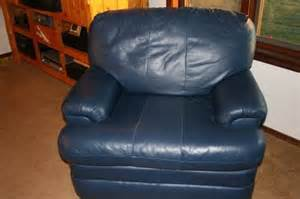 Navy Blue Leather Chair And Ottoman Navy Blue Leather Sofa And Loveseat Thesofa