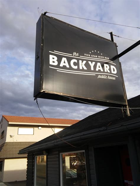 Backyard Pb Happy Hour Happy Hour Of The Week An Upscale Dive Bar Experience At