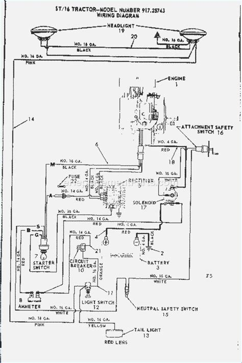 craftsman lt1000 pto wiring diagram 35 wiring diagram