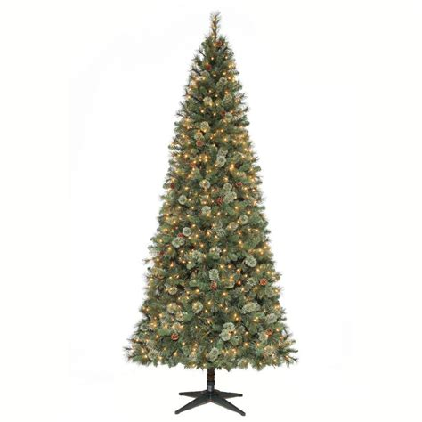 martha stewart alexander 75 ft christmas tree reviews martha stewart living 9 ft pine set artificial tree with pinecones