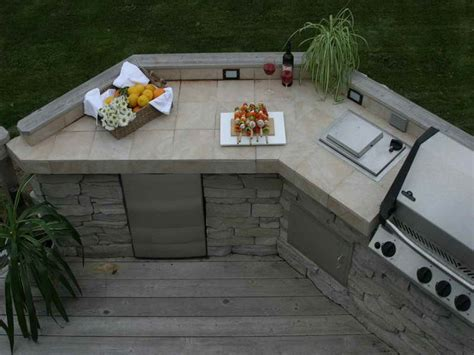 outdoor cozy outdoor kitchen countertop material how to
