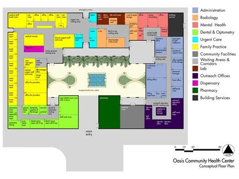 health center floor plan neighborhood health plan