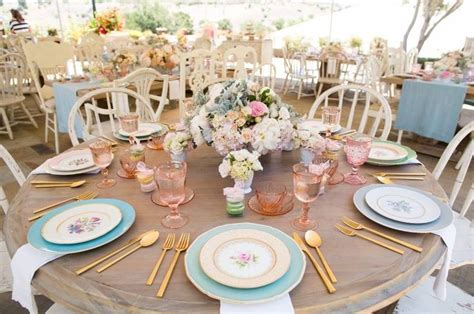 tea table decorations 17 best images about tablescapes on farmhouse
