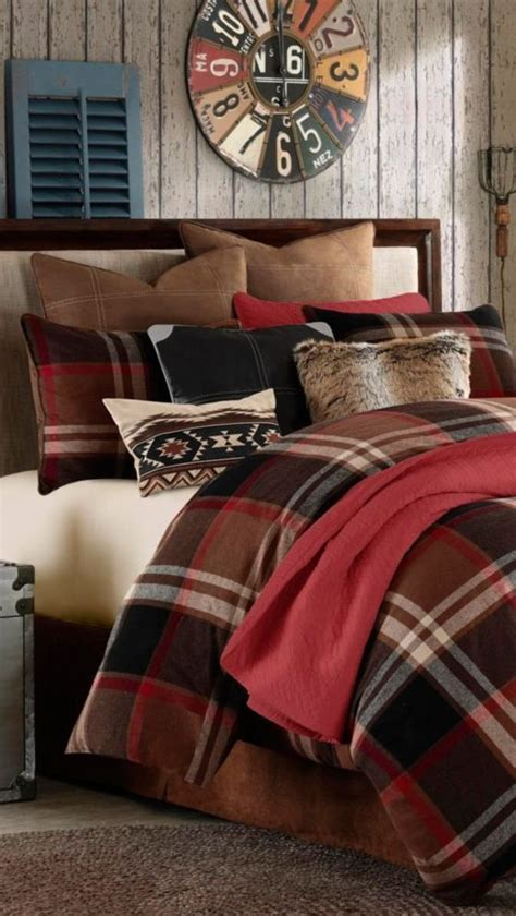 cabin style comforter sets 25 best plaid bedding ideas on pinterest plaid bedroom