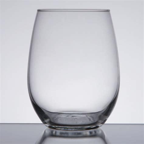 stemless wine libbey 213 15 oz stemless wine glass 12 case