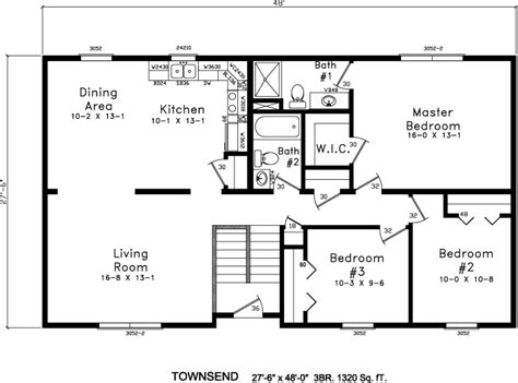 Bi Level House Plans by Inspiring Bi Level Floor Plans 12 Photo House Plans 44200