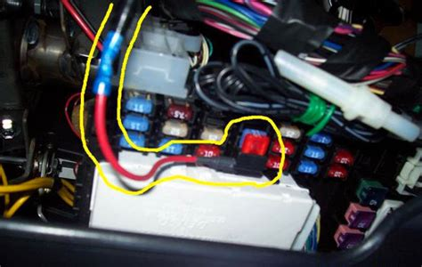 how to connect interior led wires to fuse box 45 wiring
