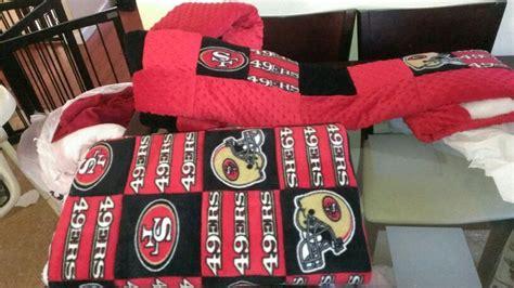 49ers Crib Set by Custom 49ers Crib Bedding Bumper And Cumforter Sweet