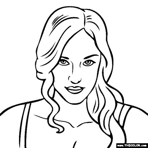 Online Coloring Pages Starting With The Letter K Katy Perry Coloring Page
