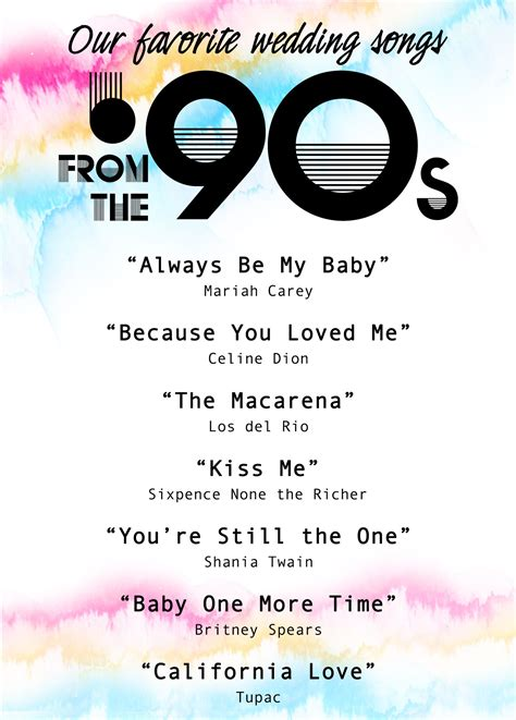 Wedding Quotes Songs by Our Favorite Wedding Songs From The 90s Wedding Help