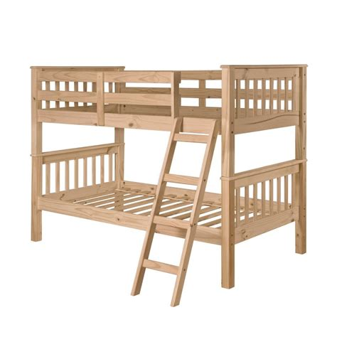Simply Bunk Beds Mission Bunk Bed Simply Woods Furniture Opelika Al