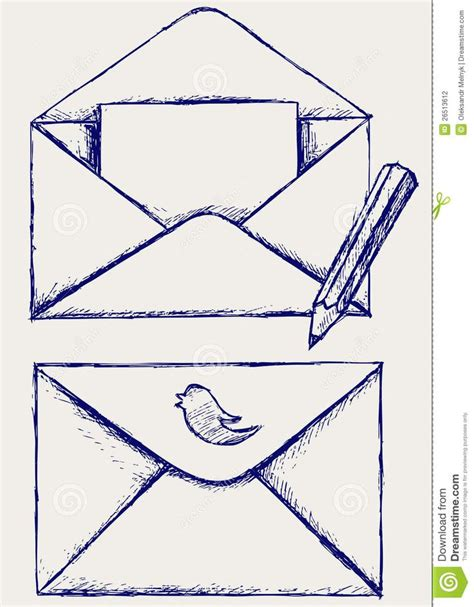doodle 4 mailing address envelope and letter drawing tattoos ideas and designs