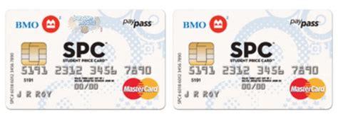 No Fee Mastercard Gift Card - bmo canada 2 no fee student credit cards with rewards bargainmoose canada