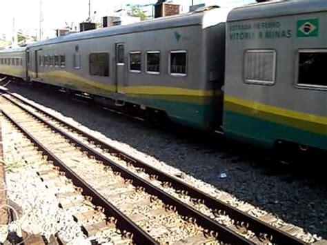 Pedro P002 trem de passageiros da vale efvm