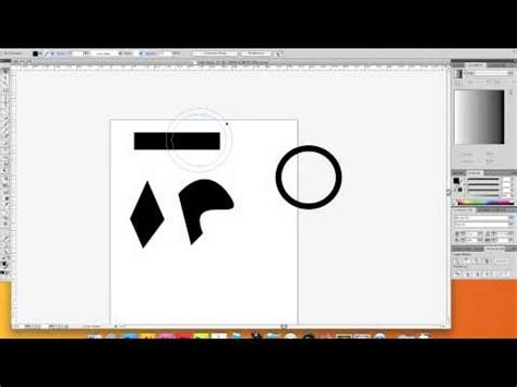 illustrator tutorial merge shapes how to combine simple shapes with pathfinder in adobe