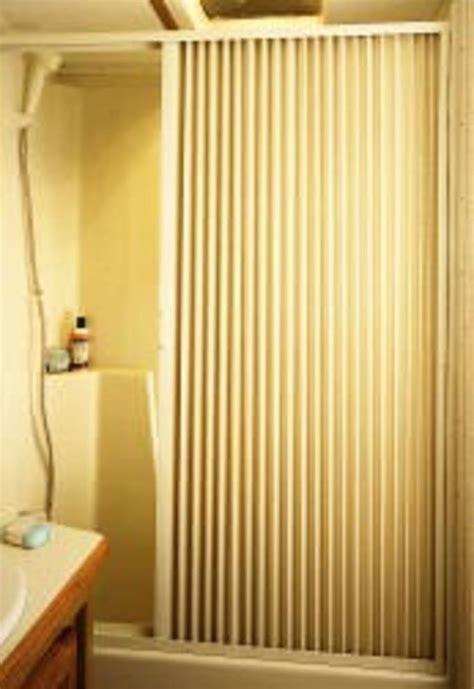 Pleated Shower Door Pleated Shower Door Ivory Up To 36 Quot W X 57 Quot L Irvine Shade Door 3657si Shower Cing