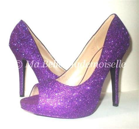 Hochzeitsschuhe Glitzer by Purple Glitter Shoes Glitter Shoes Glitter Wedding Shoes