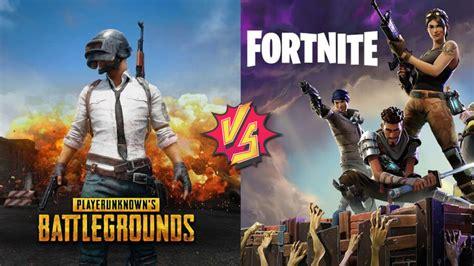 fortnite vs battlegrounds playerunknown s battlegrounds vs fortnite