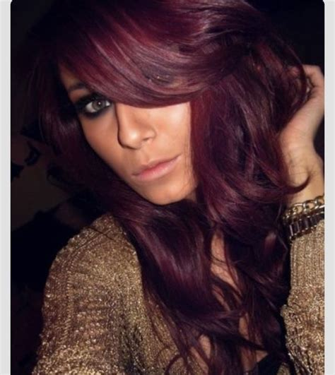 sangria hair color hairstyle 2013