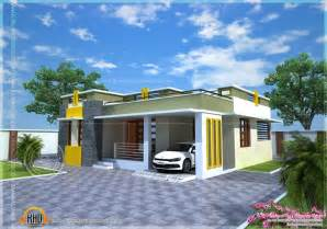 Small House Plans In Kerala Home Design House Plan Of A Small Modern Villa Kerala Home Design And Floor Small Home Design