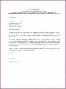 professional resignation letter designproposalexample com