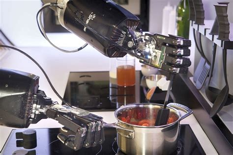 Robot Kitchen by This New Robotic Chef Will Cook You The Dishes On