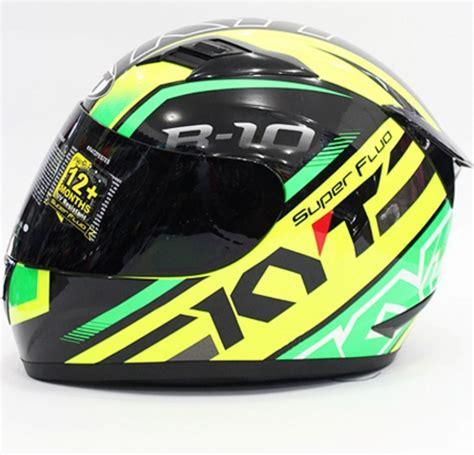 Helm Kyt Hijau harga helm kyt r10 warna hitam kuning hijau daftar harga helm terbaru