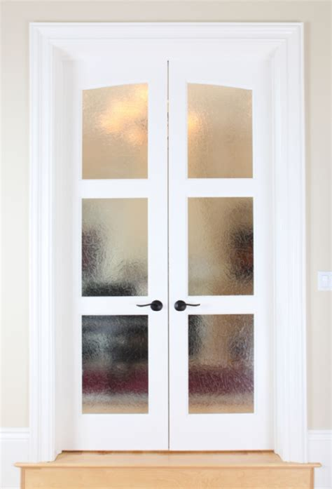glass bedroom doors frosted glass french doors as seperators for bedroom