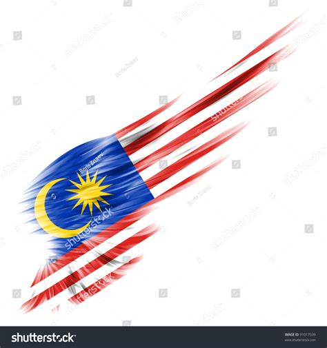 backdrop design malaysia malaysia flag on abstract wing white stock illustration