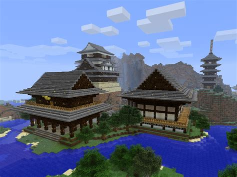 minecraft japanese garden www imgkid the image