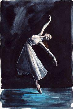 Sprei No 1 Swan Lake bolshoi ballet dancer painting ballet