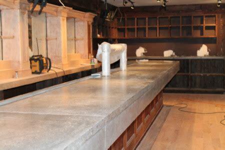 Modern Bar Tops by Concrete Bar Top Buckhead Grill Westhton Ny Modern