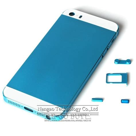iphone 5s housing replacement aliexpress com buy for iphone 5s back housing replacement cover sky blue color metal