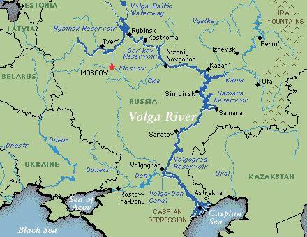 volga river map volga river images usseek
