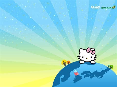 wallpaper hello kitty blue blue hello kitty wallpapers wallpaper cave