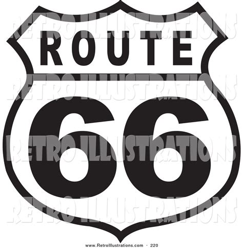 Route 66 Coloring Pages Royalty Free Black And White Stock Retro Designs by Route 66 Coloring Pages