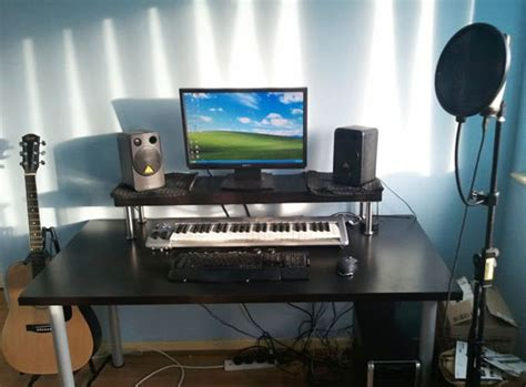 cheap recording studio desk cheap diy ikea home studio desk studio desk desks and