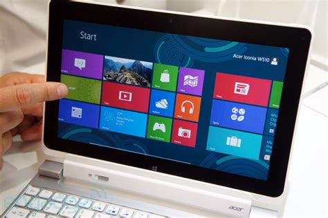 Acer 10 Inch Tablet Windows 8 acer unveils 11 6 inch iconia w700 10 1 inch w510 windows 8 tablets update on