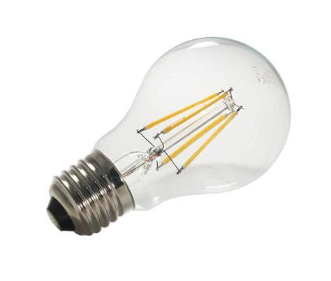 lade e27 a led ladina led 6 watt con filamento e 27 ecoworld shop it