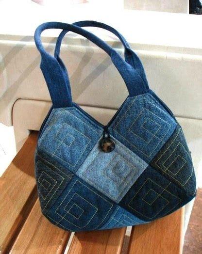 Denim Patchwork Bag Patterns Free -
