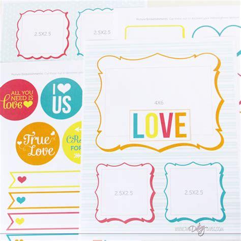 printable love journal diy gift i love us printable book
