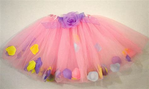 Tutu Dress Flower Pink Series A0050 pastel flower petal tutu everything princesses