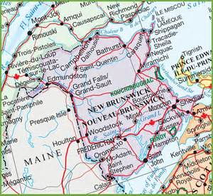 maps new brunswick canada large detailed map of new brunswick